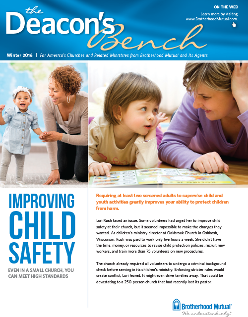 Deacon's Bench - Child Safety Issue