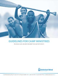 Guidelines for Camp Ministries
