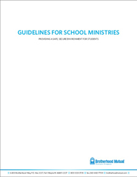 Guidelines for School Ministries